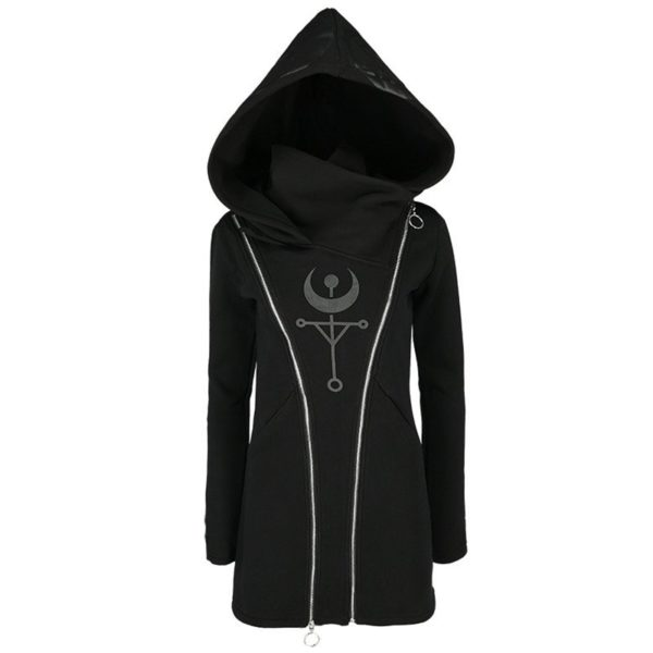 Bomber Cyberpunk Hooded Sweatshirt