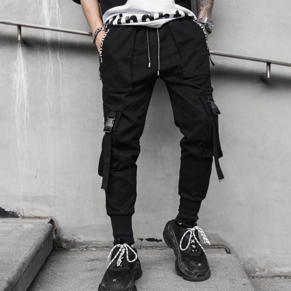 Mens Cyberpunk Pants
