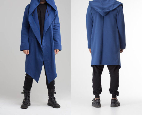 Hooded Cyberpunk Trenchcoat