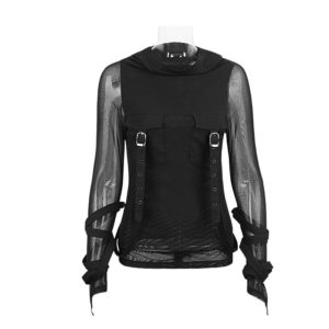 Cyberpunk Women Top Vest