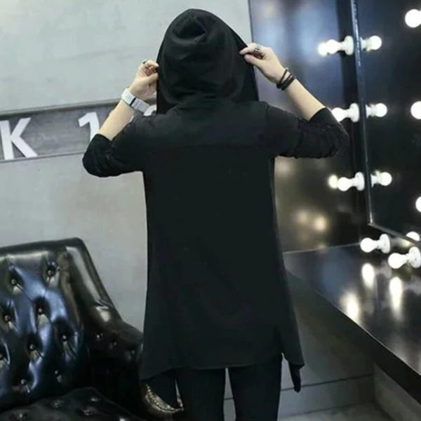 Cyberpunk Trenchcoat Sweatshirt Back