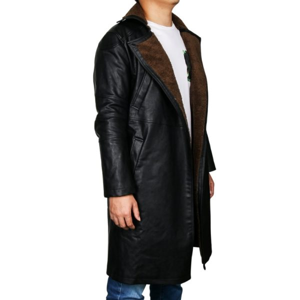 Cyber punk Leather Coat