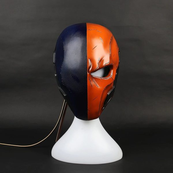 Deathstroke Cyber punk Mask Back