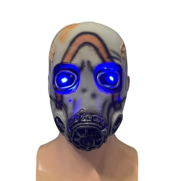 Cyber punk Latex Mask light
