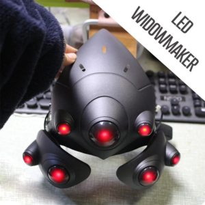 Cyberpunk Widowmaker Helmet