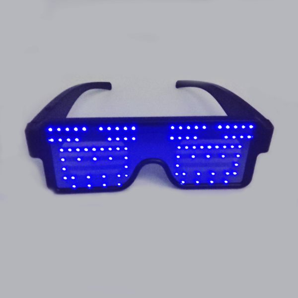 Dancing Smart LED Glasses