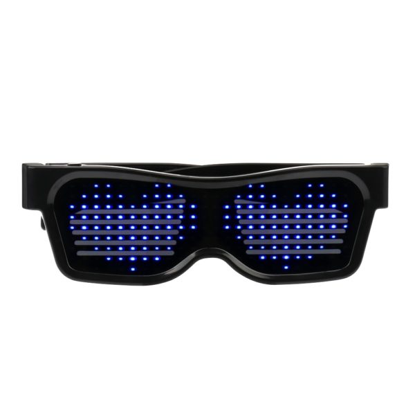 Bluetooth App Control Cyberpunk Fashion Glasses