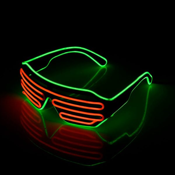 Neon Red sunglasses