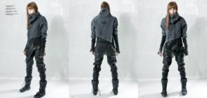 what is cyberpunk clothing
